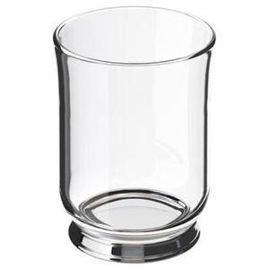 BNIB IKEA glass bathroom cup/holder
